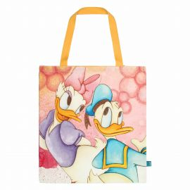 THUN Disney® Donald and Daisy Duck fabric shopper