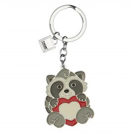 Funny Days Pepito the Raccoon keyring