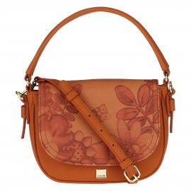 "Small ""Savana story"" bag in faux leather"