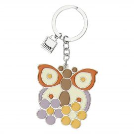 Country butterfly keyring