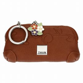 Country key holder with zip