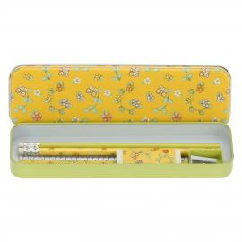 Country pencil tin set with accessories