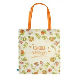 Country fabric shopper