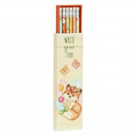 Set of 6 Grace pencils