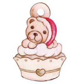 Cupcake Christmas Teddy