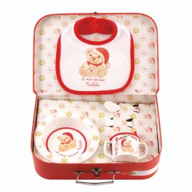"""Pappa set """"My first Christmas"""" with suitcase"""