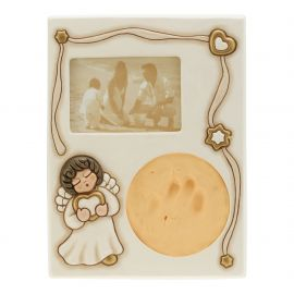 Handprint with photo frame Angel Neutral