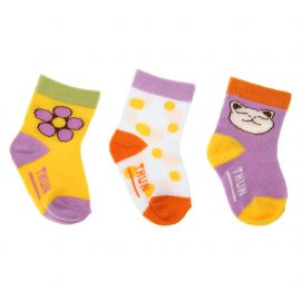 Pack 3 socks girl