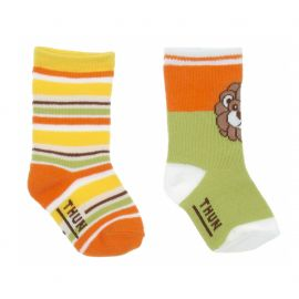 Set 2 calzini lunghi colorato bimbo 6 mesi