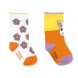 Gift set 2 socks Color Girl
