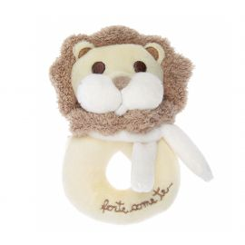 Rattle toy lion