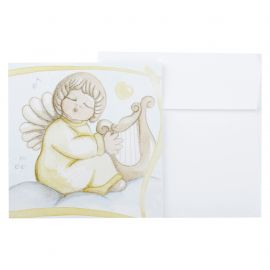 Gift charm angel with harp