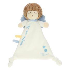 Coperta con peluche comforter Angelo azzurro