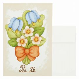 Gift card flowers