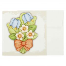 Small gift card flowers