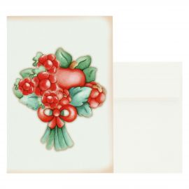 Big gift card red berries
