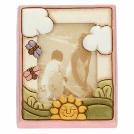 Portafoto medio bimba con sole formato 9,2x13,6 cm