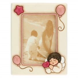 Medium photo frame for girl with angel 9.2 x 13.6 cm