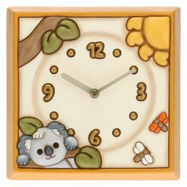 Unisex wall clock with Koala