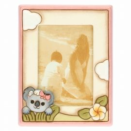Girl's photo frame with Koala; photo format 9.2x13.6 cm
