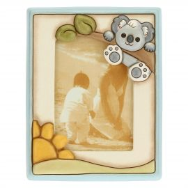 Boy's photo frame with Koala; photo format 9.2x13.6 cm