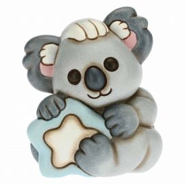 Boy Koala Koki with blue star