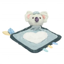 Blue blanket with Koala soft toy comforter