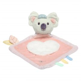 Pink blanket with Koala soft toy comforter