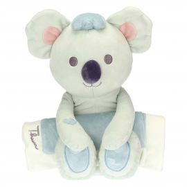 Blue blanket with Koala