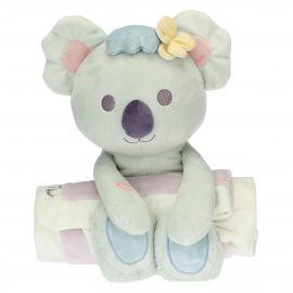 Pink blanket with Koala