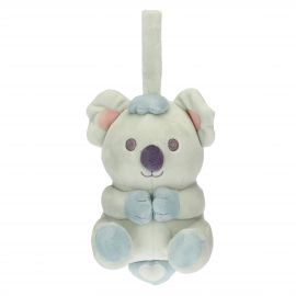 Musical baby boy Koala soft toy
