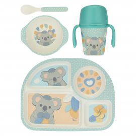 Baby boy Koala mealtime set