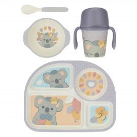 Baby girl Koala mealtime set