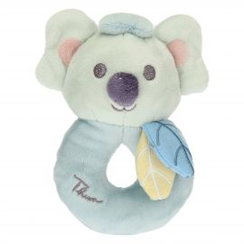 Blue rattle with Koala soft toy
