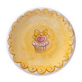 Dessert plate Cupcake