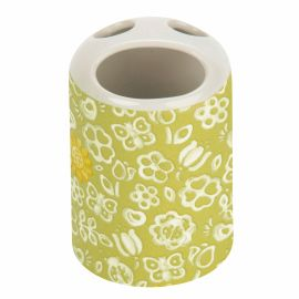 Toothbrush holder Sunflower