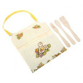 Pack apron + ladles Country