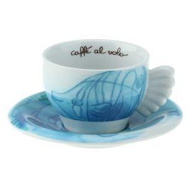 Cappuccino cup Acquamarina
