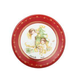 Decorative dessert plate Dolce Natale
