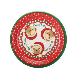 Paper plates Storie di Natale