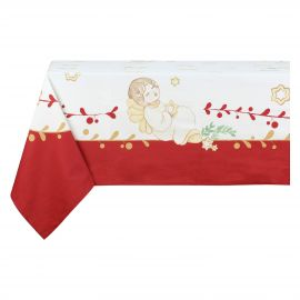 "Tablecloth 10-12 persons ""Dolce Natale"""