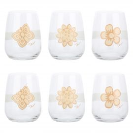 Set of 6 Elegance glasses