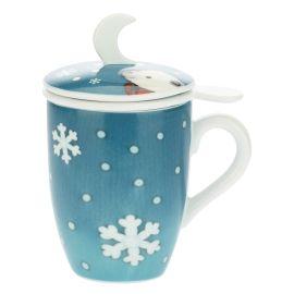 "Porcelain tea cup ""Dolce Inverno"""