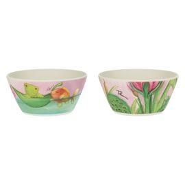 "Set 2 small bowls ""Acqua dolce"""