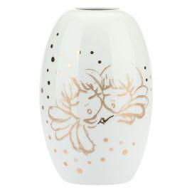 """Maxi porcelain vase """"Angel gold"""""""