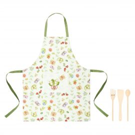 Set apron with 3 ladles Country