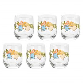 Set 6 glasses Country