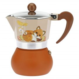 "Coffee maker 3-4 cups ""Bosco incantato"""