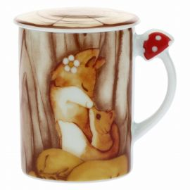 "Mug with stopper ""Bosco incantato"""