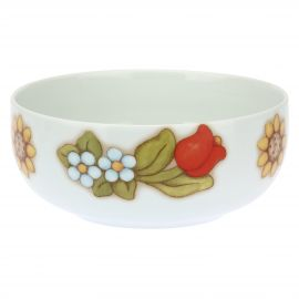 Country porcelain bowl